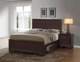 coaster fenbrook bedroom set dark cocoa 204390 bedroom set at