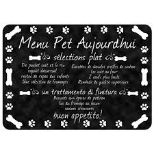 bungalow flooring comfort french pet menu 22 in x 31 in pet mat