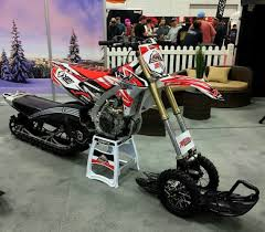 snow motocross bike yeti snow mx kit derestricted