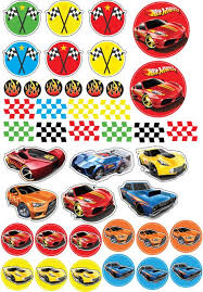 hot wheels cake toppers hot wheels cupcake topper hot wheels party hot wheels birthday