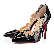 christian louboutin beloved patent leather black christian