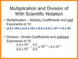 multiplying and dividing scientific notation worksheet 6 scientific notation division math cover