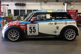 mini cooper modified racecarsdirect com mini challenge r56 car modified for endurance