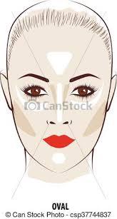 Makeup Contour contour and highlight makeup contouring oval make up