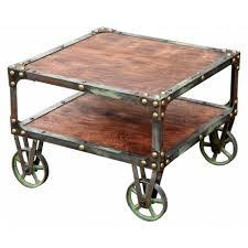 furniture home diy table wheels round spool design modern 2017