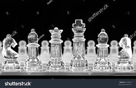 game glass chess pieces on board stock photo 7730638 shutterstock