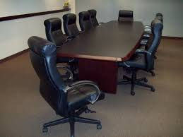 used round office table used conference room tables chairs in all shapes sizes