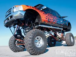 bigfoot monster truck cartoon the list 0555 drive a monster truck lifted ford biggest truck