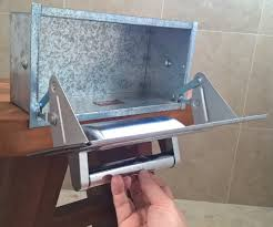 spare toilet paper holder win a nos hall mack conceal a roll toilet paper holder retro