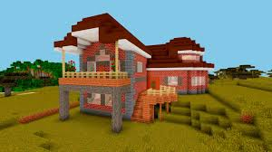 minecraft how to build a suburban brick house brick design ideas