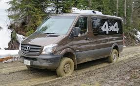4x4 mercedes 2015 mercedes sprinter 4x4 can tackle the toughest