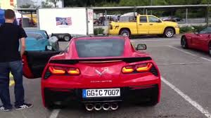 2014 corvette exhaust 2014 corvette c7 stingray start up rev exhaust
