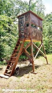 2 Person Deer Blind Plans 51 Best Deer Blind Plans Images On Pinterest Deer Blinds Deer