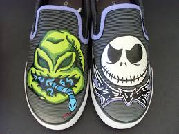 the nightmare before oogie shoes by rachelliles352