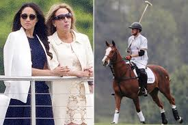 meghan markle attends polo match featuring prince harry page six