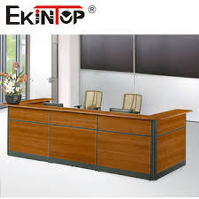 Small Receptionist Desk Cheap Office Furniture Front Desk Small Reception Desk Km900 View