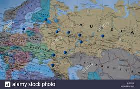 moscow map world moscow map stock photos moscow map stock images alamy