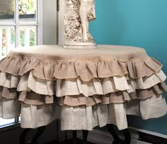 Shabby Chic Tablecloth by Pleasing Shabby Chic Table Cloths Sweeten Your Dining Table