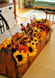 Decorate Table For Thanksgiving Fall Decorating Bloggers Fall Home Tour 2015 Primitive
