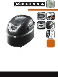 melissa bread maker 643 111 pdf user u0027s manual free download u0026 preview