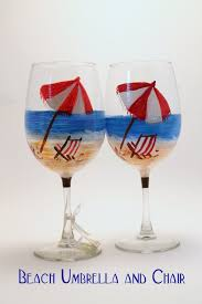 175 best wine glasses images on painted wine