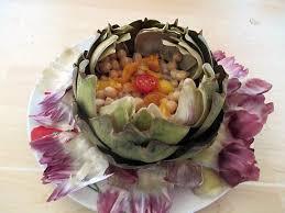 cuisine artichaut recette de salade d artichaut aux pois chiches les foodies dans mon