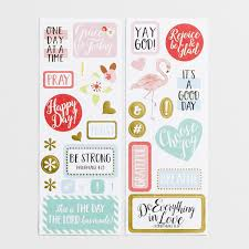 daily agenda planners dayspring grace for today planner stickers set of 30
