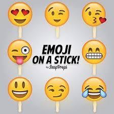 Photo Booth Prop Emoji On A Stick Smiley Party Photobooth Prop 8 Pcs Set Emoji Prop