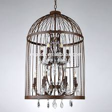 How To Make A Birdcage Chandelier Chandeliers Birdcage Chandelier Restoration Hardware Birdcage