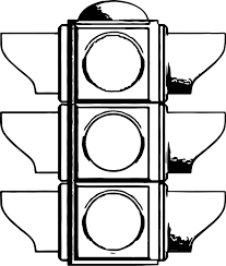 Traffic Light All Coloring Page Wecoloringpage Light Coloring Page