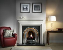 black fireplace mantel binhminh decoration
