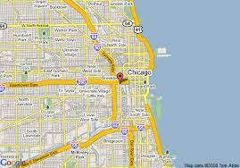 chicago map streets map of inn hotel and suites downtown chicago chicago