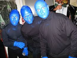 Blue Man Halloween Costume 12 Blueman Group Hungry