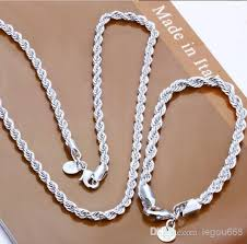 sterling silver rings necklace images Wholesale 925 sterling silver jewelry 925 necklace bracelet jpg