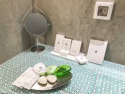 Bathroom Amenities Santorini Secret Suites Hip Chic U0026 Commercialised Hotel In Oia