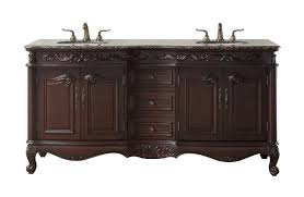 Bathroom Vanity Double Sink 72 by 72 Inches Saturn Double Sink Bathroom Vanity With Baltic Brown