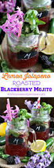 lemon jalapeno blackberry mojito sweet and savory meals