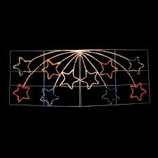 shooting star icicle lights giant shooting star christmas outdoor light display crazy sales