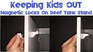 red sea reefer 250 adding magnetic door locks to your aquarium