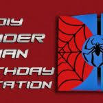 free spiderman birthday invitations templates u2014 all invitations ideas