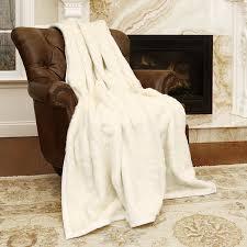 Pottery Barn Fur Blanket Amazon Com Best Home Fashion Faux Fur Throw Lounge Blanket