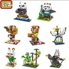 loz diamond blocks 8 styles kung fu panda loz diamond blocks iblock mini building