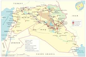 Map Of Iraq And Syria by Middle East Operations Building Capacity In Iraq