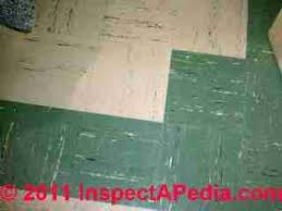 asbestos floor tiles risk meze