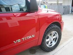 nissan titan with rims tire size on stock 18 inch rim nissan titan forum