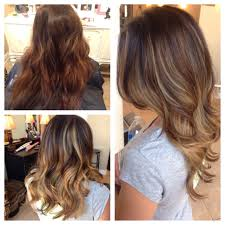 Caramel Hair Color With Honey Blonde Highlights Before After Balayage Highlights Honey Ash Blonde Long Layers