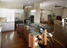 kitchen open floor plan romantic design ideas for kitchens with an open floor plan in