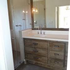 Distressed Bathroom Vanities Rustic Bathroom Vanity Design Ideas