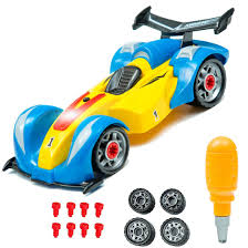 car toy for kids formula one take a part toy for kids with 24 take apart pieces