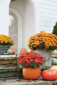 pumpkin ideas for your front door southern living